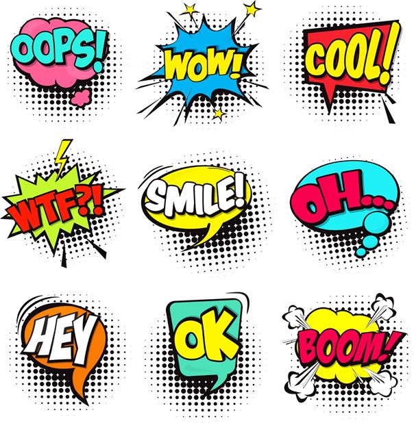 Comics Sprache beim Matula
