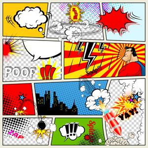 Comics Geschichten in der Bilderbox