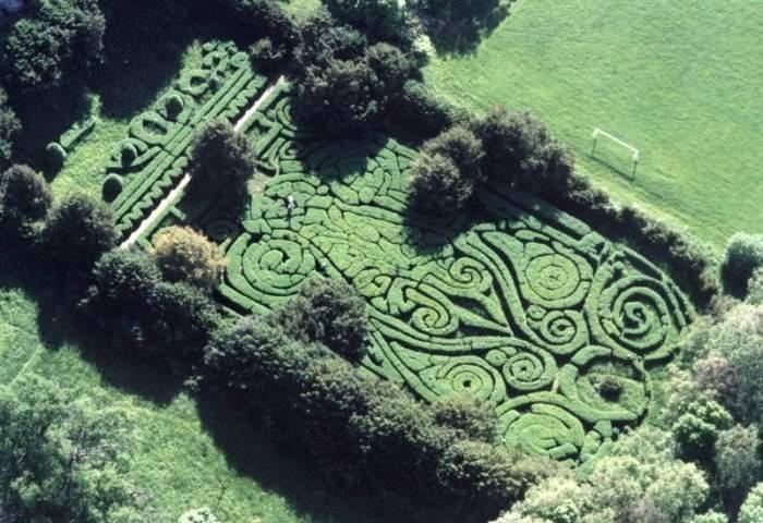 Labyrinth zu Ehren von Sissi