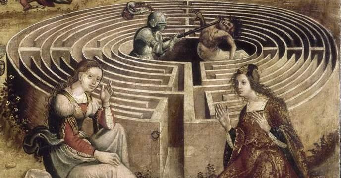 Labyrinthe sind die Vorgänger von Fluchträumen