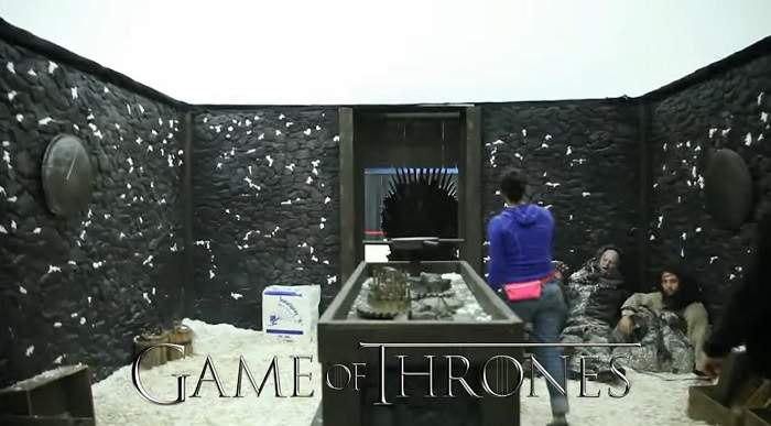 Game of Thrones Exit Room